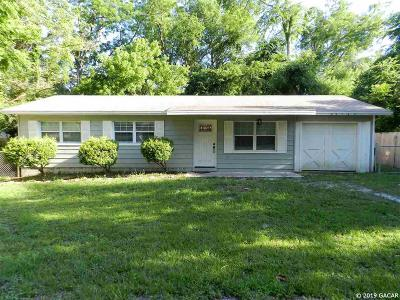 Newberry Single Family Home Pending: 25149 NW 4th Avenue