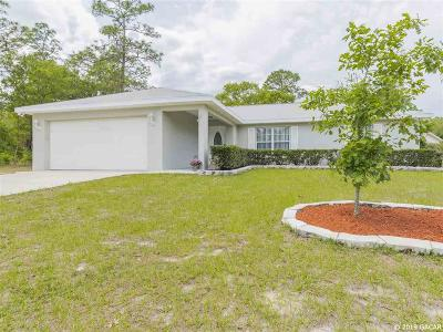 Dunnellon Single Family Home For Sale: 9910 SW 196th Avenue Road