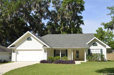 Gainesville Single Family Home Pending: 1328 NW 100th Terrace