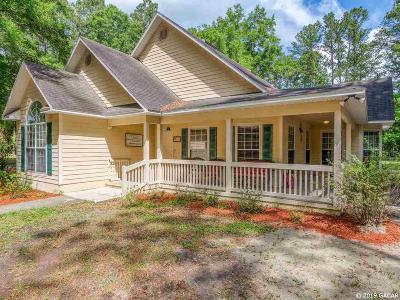 Alachua Single Family Home For Sale: 12538 NW 109TH Lane