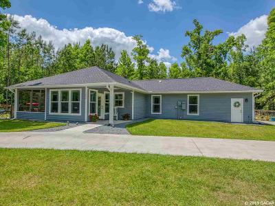 Alachua Single Family Home For Sale: 12536 NW 109TH Lane