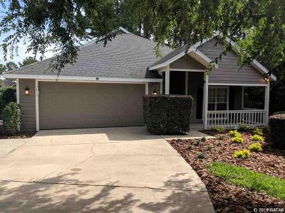 Newberry Single Family Home For Sale: 2419 NW 145TH Drive