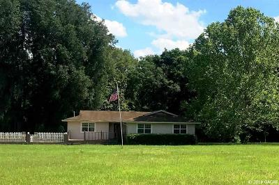 Alachua Single Family Home For Sale: 11815 NW 278th Avenue