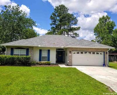 Alachua Single Family Home For Sale: 11116 NW 60th Terrace
