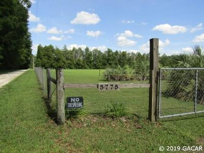 Alachua Residential Lots & Land For Sale: 5775 NW 254 Avenue