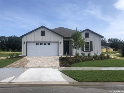 Newberry Single Family Home Pending: 13512 NW 11th Place