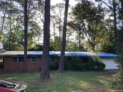 Gainesville Single Family Home Pending: 2209 NE 15TH Terrace