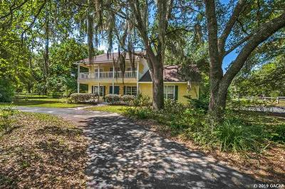 Gainesville Single Family Home For Sale: 7325 SW 97TH Lane