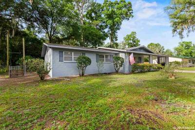 Gainesville Single Family Home For Sale: 4401 NW 32nd Avenue