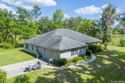 Micanopy Single Family Home For Sale: 10520 NW 198 Street
