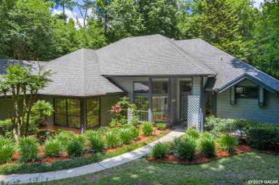Gainesville Single Family Home For Sale: 9322 NW 59TH Lane