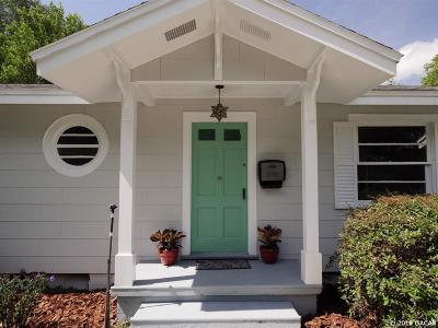 Gainesville Single Family Home For Sale: 610 NW 9th Avenue