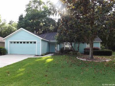 Alachua Single Family Home For Sale: 11650 NW 74th Terrace