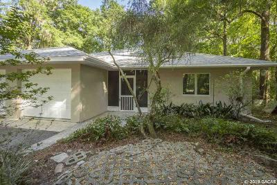 Gainesville Single Family Home For Sale: 6405 NW 16TH Place