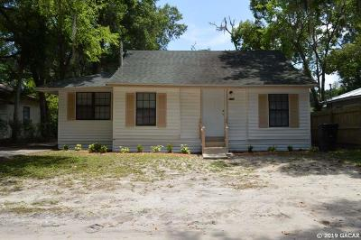 Gainesville Single Family Home For Sale: 417 SE 12 Street