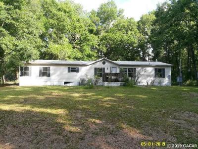 Newberry Single Family Home Pending: 8320 SE 71ST Street