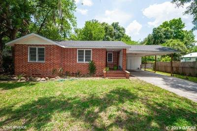Gainesville Single Family Home For Sale: 1111 NW 40 Avenue