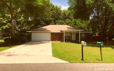 Newberry Single Family Home For Sale: 25204 SW 16th Avenue