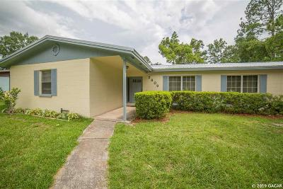 Gainesville Single Family Home For Sale: 2809 NW 55th Boulevard