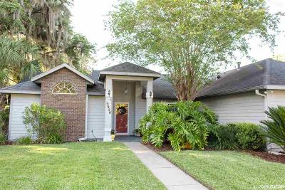 Gainesville Single Family Home Pending: 3950 NW 62 Avenue