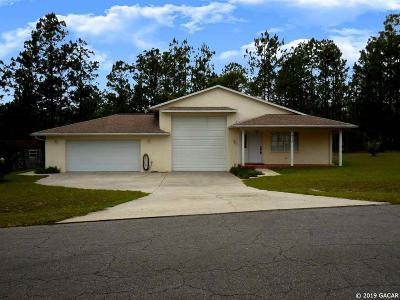 Williston Single Family Home Pending: 710 NE 150TH Avenue