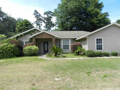 Gainesville Single Family Home Pending: 4104 SW 19th Drive