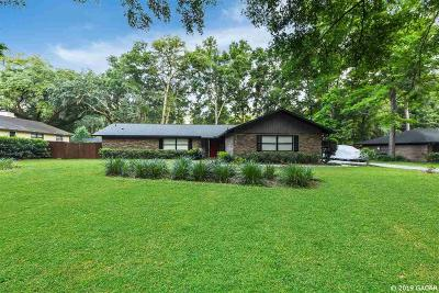 Gainesville Single Family Home For Sale: 2500 NW 38TH Street