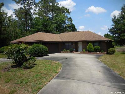 Williston Single Family Home For Sale: 871 NE 151ST Terrace