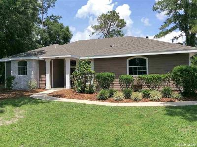 Gainesville Single Family Home For Sale: 11520 NW 8TH Lane