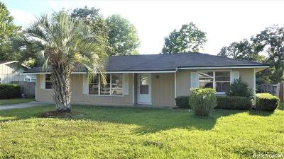 Alachua Single Family Home For Sale: 11030 NW 60th Drive