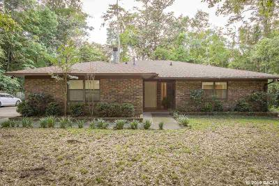 Gainesville Single Family Home For Sale: 2916 NW 34TH Street