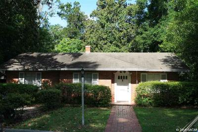 Gainesville Single Family Home For Sale: 418 NW 19th Street