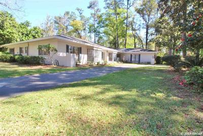 Gainesville Single Family Home For Sale: 2201 NW 26 Terrace