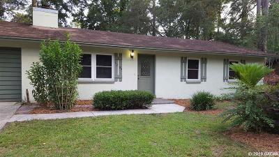 Gainesville Single Family Home Pending: 5209 NW 24 Place