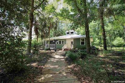 Micanopy Single Family Home Pending: 5917 SW 127TH Avenue