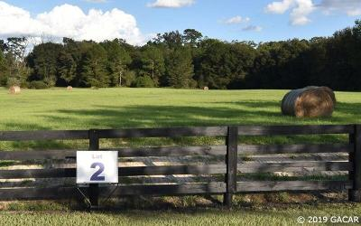 Newberry Residential Lots & Land For Sale: 15502 NW 32 Avenue #Lot 2