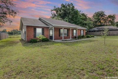 Newberry Single Family Home For Sale: 2075 SW 254 Street