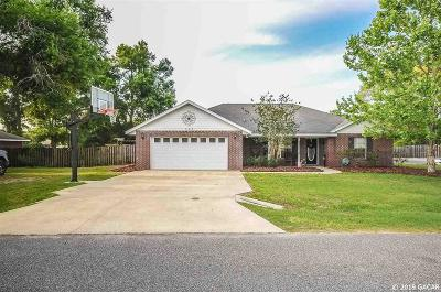 Newberry Single Family Home For Sale: 25272 SW 21st Place
