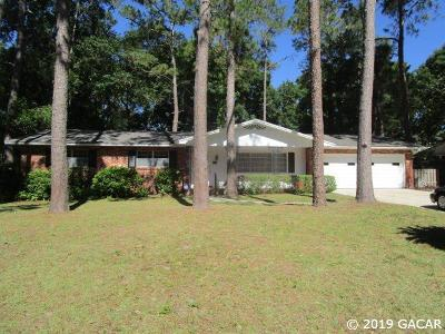 Gainesville FL Single Family Home For Sale: $280,000