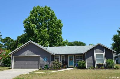 Gainesville FL Single Family Home For Sale: $214,900