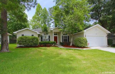 Gainesville Single Family Home For Sale: 11620 NW 16TH Place