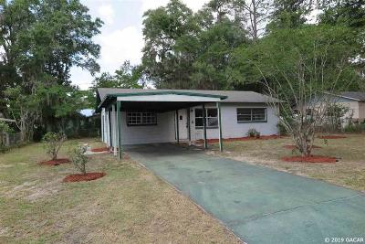 Gainesville Single Family Home For Sale: 602 SE 14TH Terrace