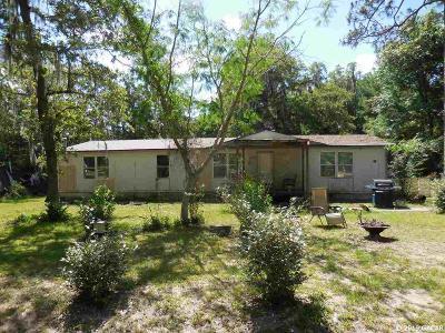 Williston Single Family Home For Sale: 321 NE 157TH Terrace