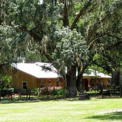 Williston Single Family Home For Sale: 17550 NE 55th Street