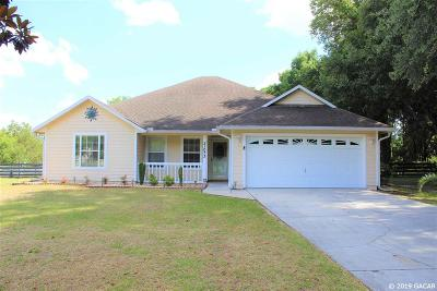 High Springs Single Family Home For Sale: 21073 NW 167th Place