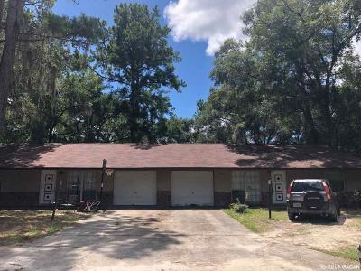 Gainesville Multi Family Home For Sale: 3231 SE 22ND Place
