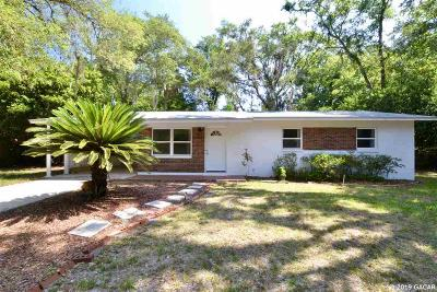 Gainesville Single Family Home For Sale: 4121 NW 14th Place