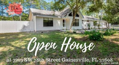Gainesville Single Family Home For Sale: 7203 SW 78th Street