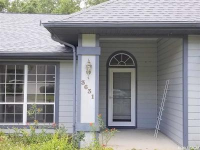 Gainesville Single Family Home For Sale: 3631 NW 67th Avenue