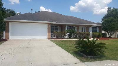 Gainesville Single Family Home For Sale: 825 NW 119th Street